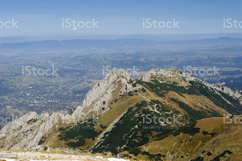 Giewont royalty-free stock photo