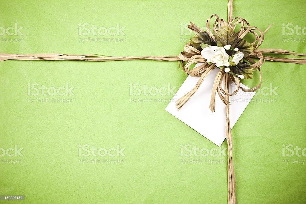 Gift background stock photo