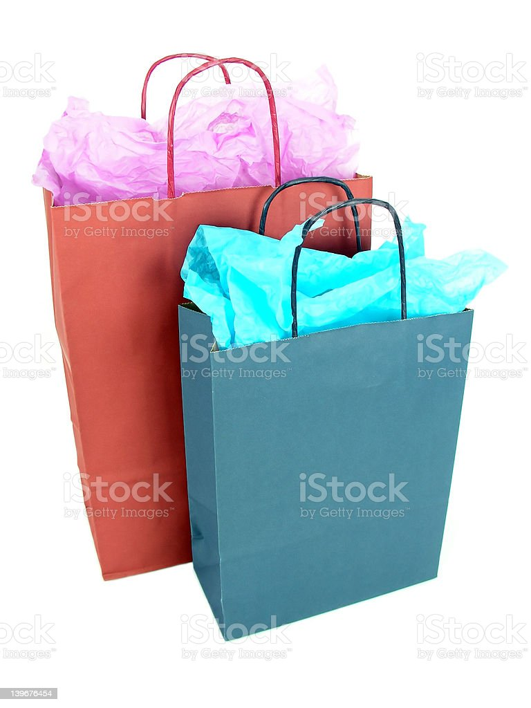 Gift Bags royalty-free stock photo