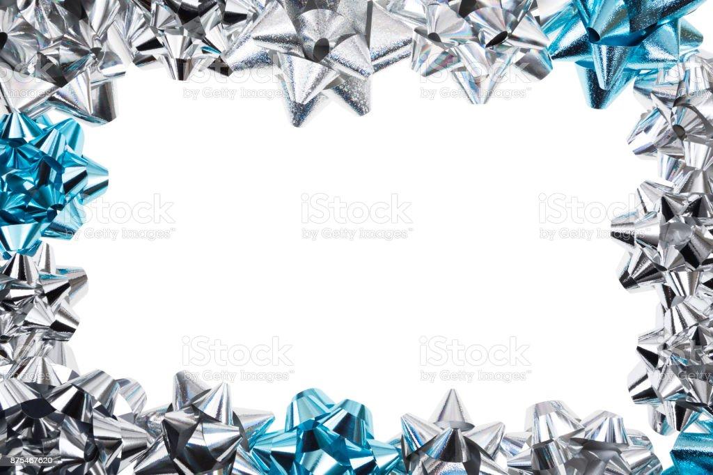 Gift Bow Frame stock photo
