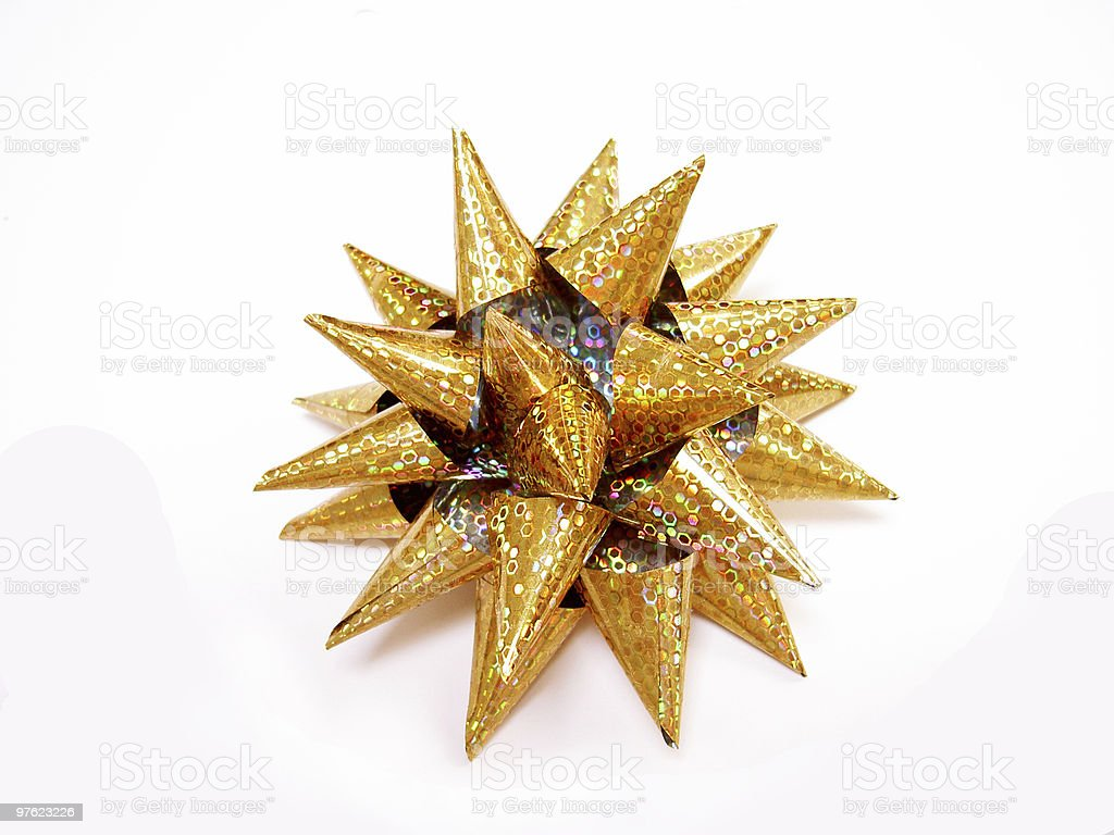 Gift Bow royalty-free stock photo