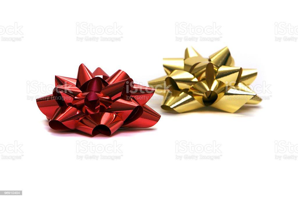 Gift bows royalty-free stock photo