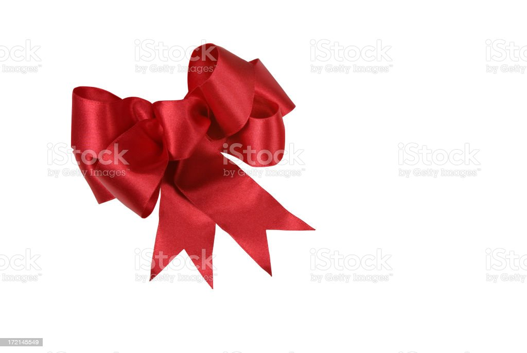 Gift Bows Series (WITH CLIPPING PATH) royalty-free stock photo