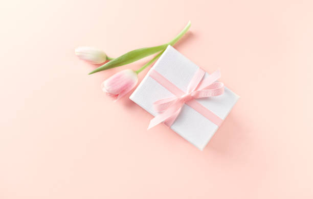 Gift box and spring tulips on powder pink background picture id921020230?b=1&k=6&m=921020230&s=612x612&w=0&h=p zxklr5lkutosv9t9egwxmaglc1hvzbl1ckk5ekbmy=