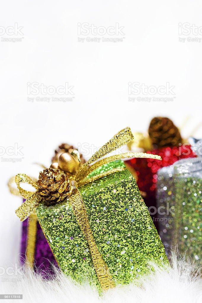 Gift Box Decor royalty-free stock photo