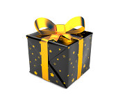 Gift box. Image contain clipping path