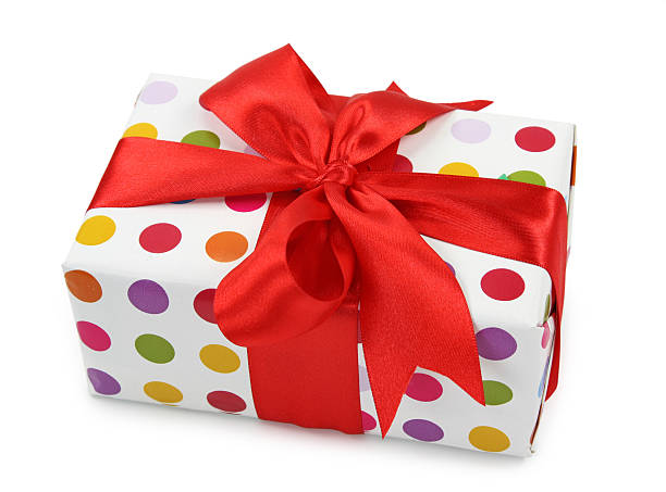 gift box - birthday gift stock photos and pictures