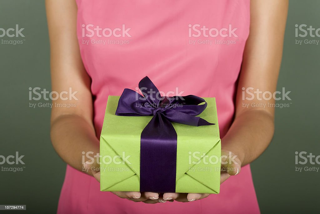 Gift Box  Adult Stock Photo