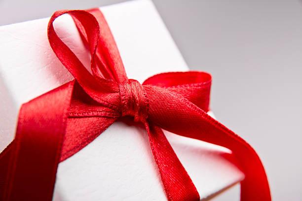 Caja de regalo - foto de stock