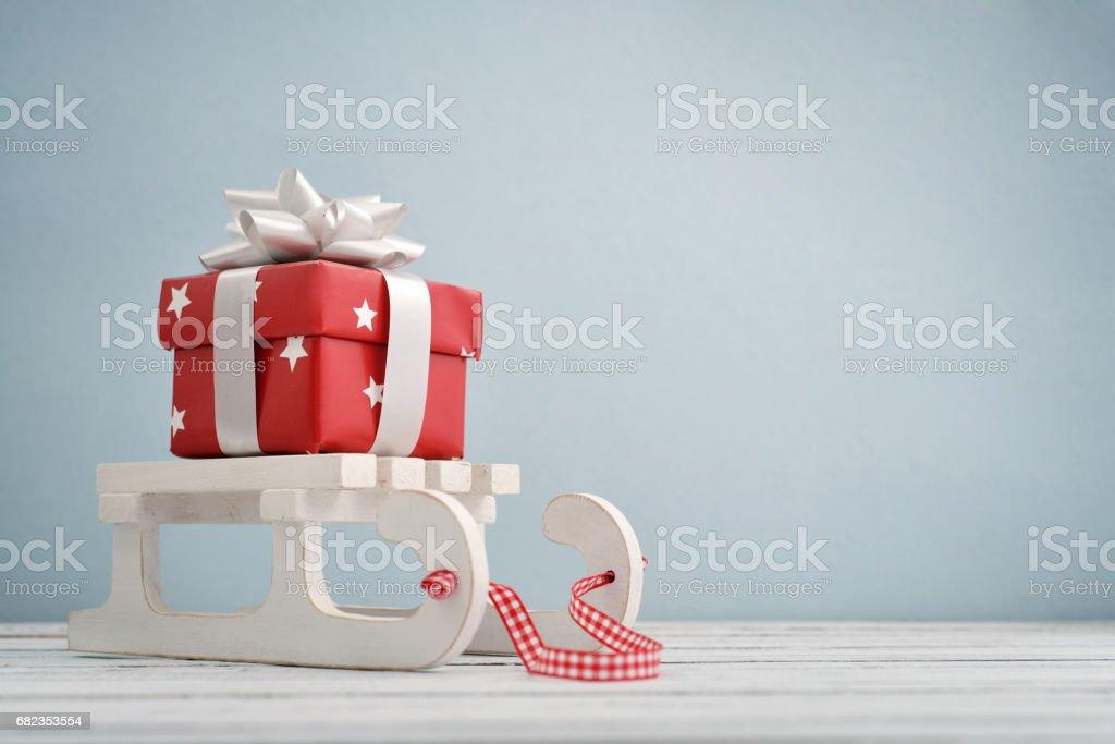 Gift box royalty free stockfoto