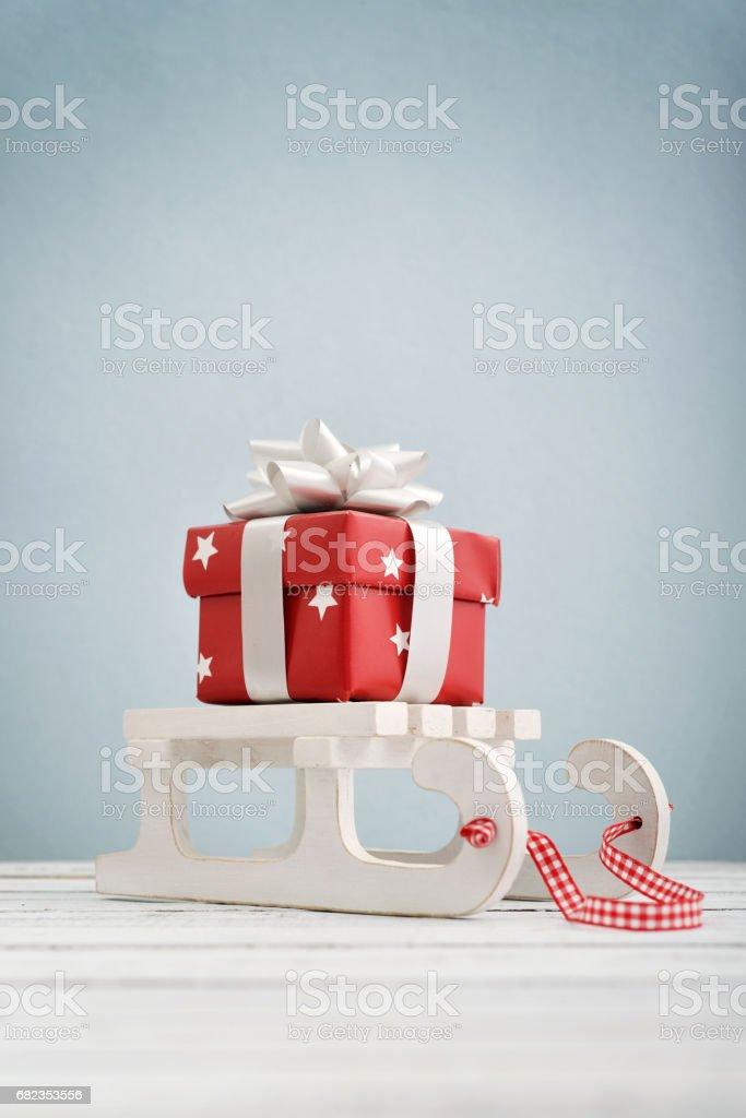 Gift box zbiór zdjęć royalty-free