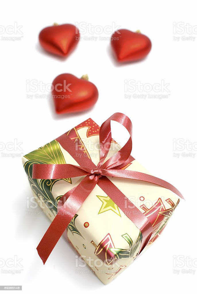 Gift box royalty free stockfoto