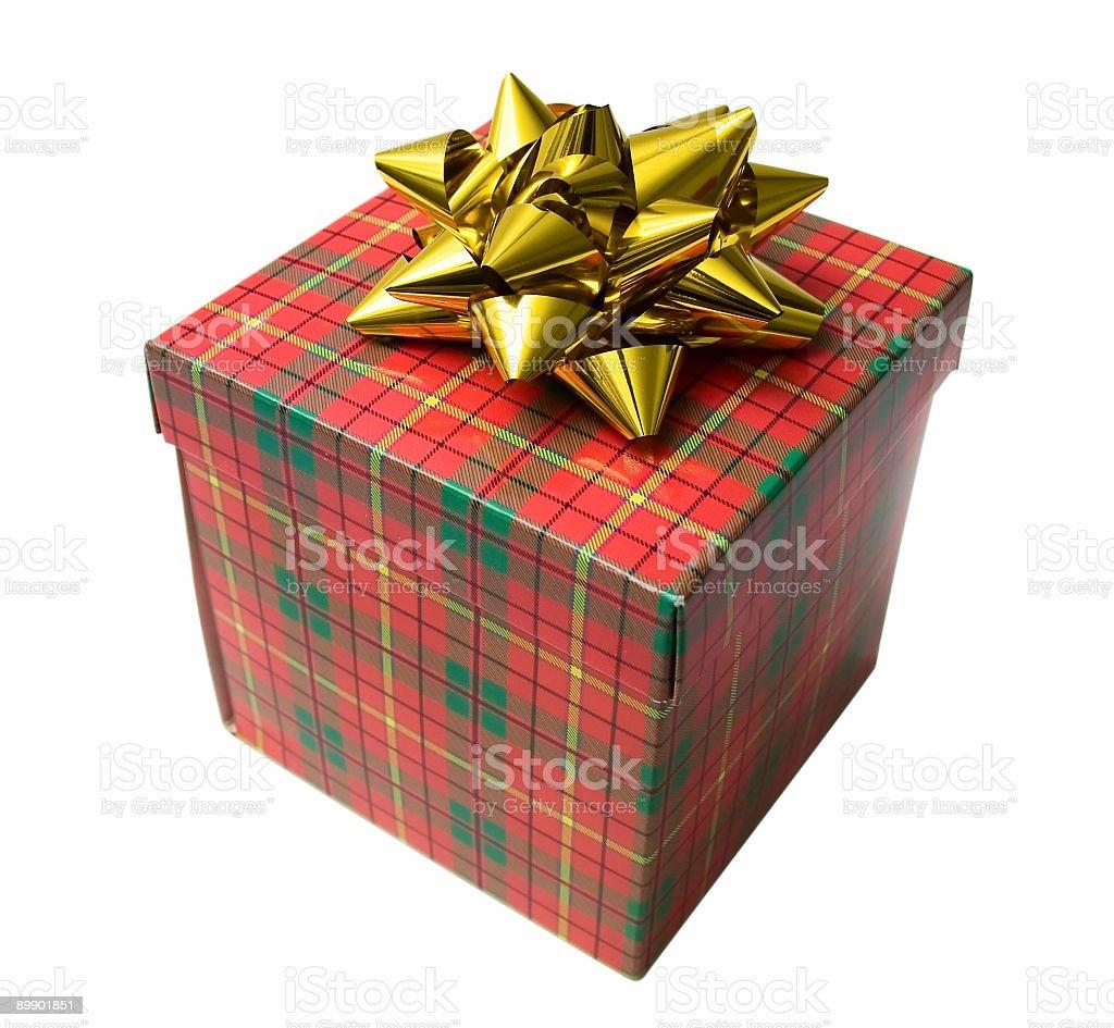 Caja de regalo foto de stock libre de derechos