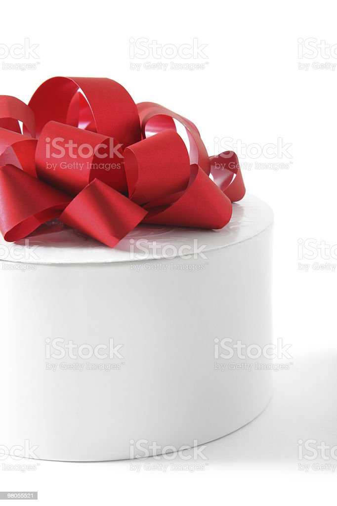 Scatola regalo foto stock royalty-free