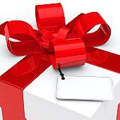 istock gift box red ribbon 149364753