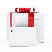 istock gift box red ribbon 153198505