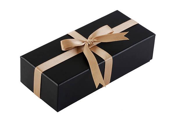 Boîte-cadeau avec un Tracé de détourage - Photo
