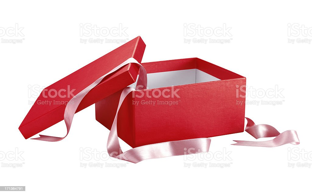 Gift Box+CLIPPING PATH (Click for more) stock photo