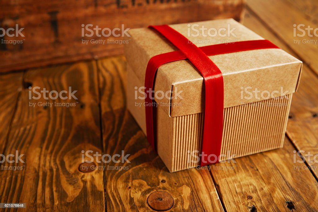 Gift boxes for holiday present photo libre de droits