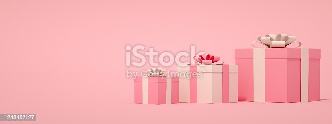 1073585628 istock photo 3D Gift Boxes 1248482127