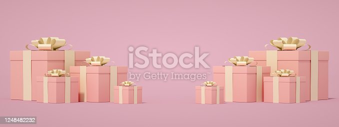 1073585628 istock photo 3D Gift Boxes 1248482232