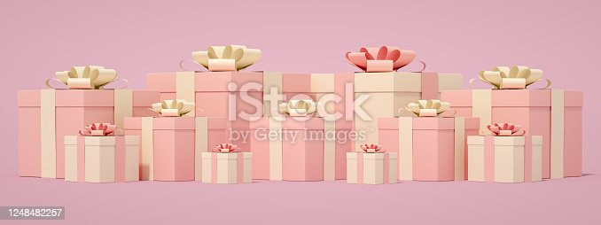 1073585628 istock photo 3D Gift Boxes 1248482257