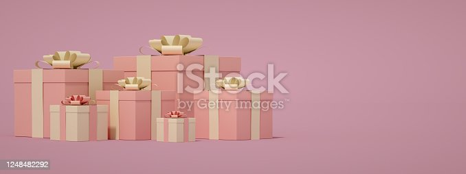 1073585628 istock photo 3D Gift Boxes 1248482292