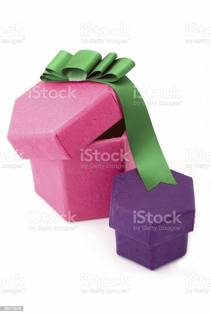 Scatole regalo foto stock royalty-free