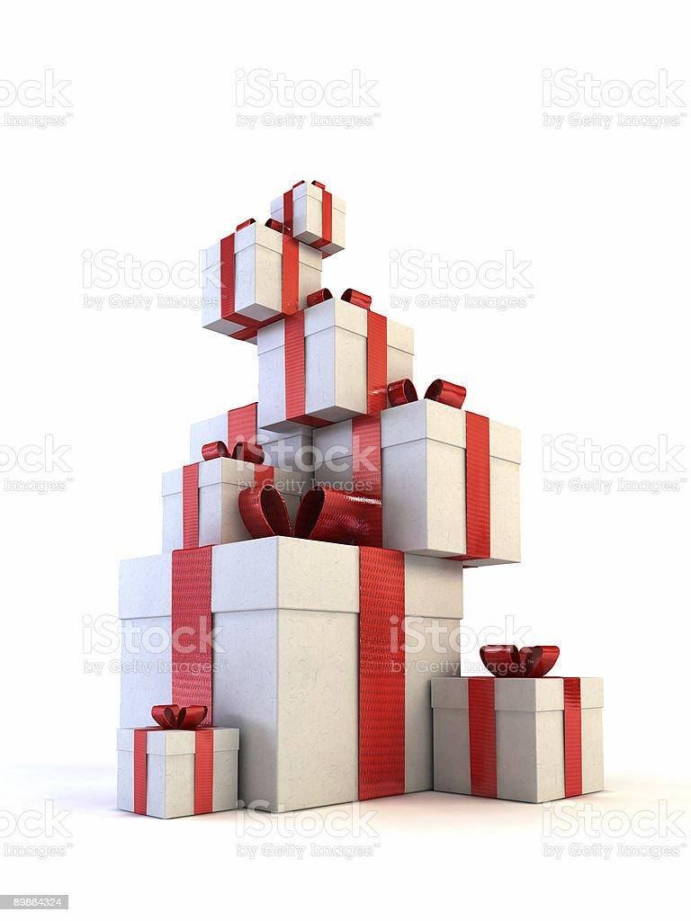 Cajas de regalo foto de stock libre de derechos
