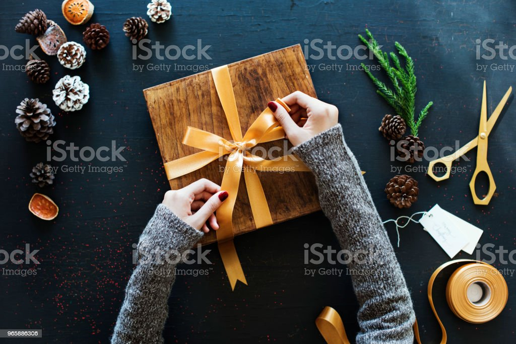 Gift boxes - Royalty-free Blue Stock Photo