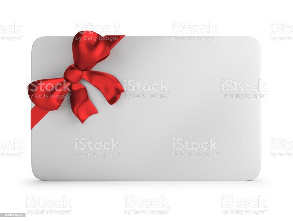 gift card стоковое фото