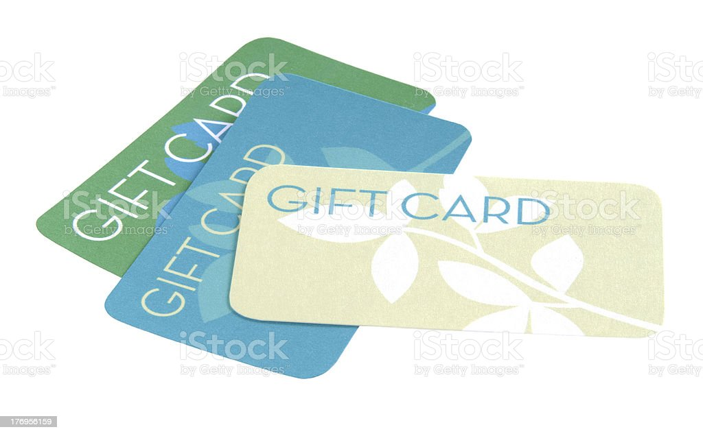 Gift Cards royalty-free stock photo