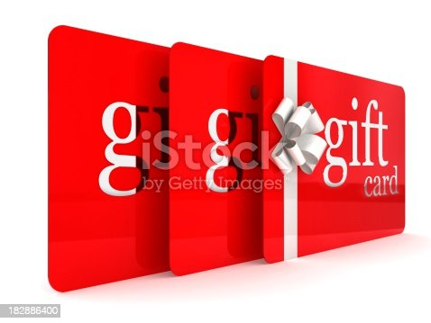 istock Gift Cards 182886400