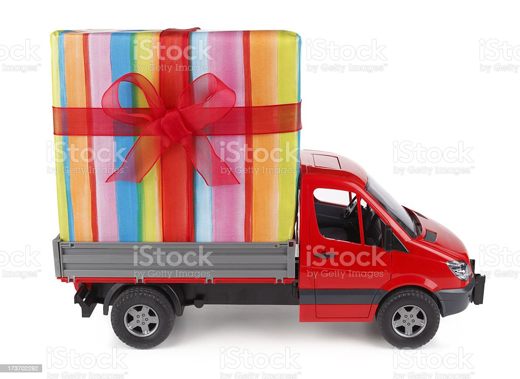 Gift Delivery Service Stock Photo More Pictures Of Birthday