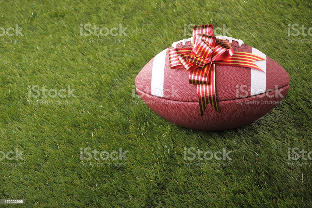 Gift For American Football Fan royalty-free stock photo