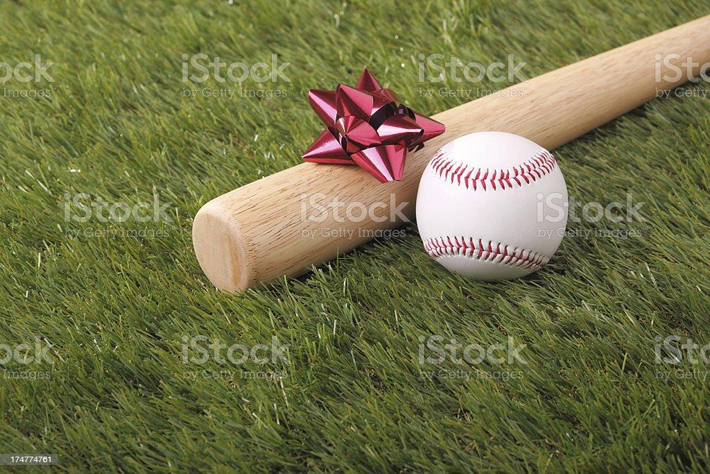 Gift For Baseball Fan royalty-free stock photo