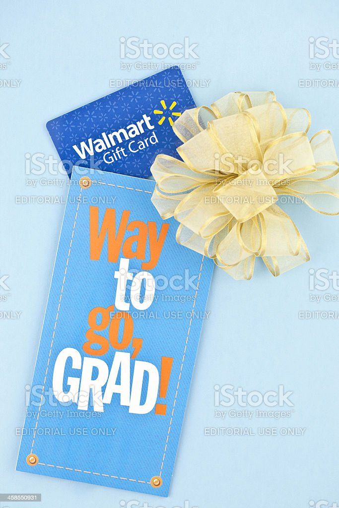 Gift For Graduation stock photo