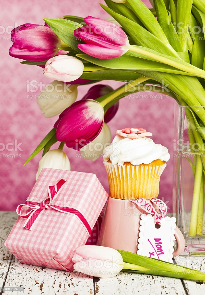 Gift for Mother's Day or Birthday stock photo