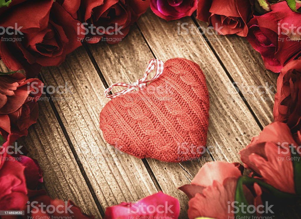Gift for St. valentine royalty-free stock photo