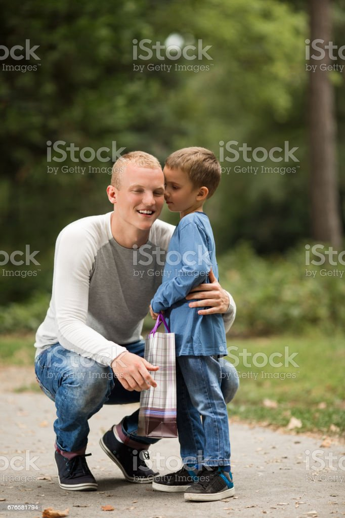 Gift for the Best Dad stock photo
