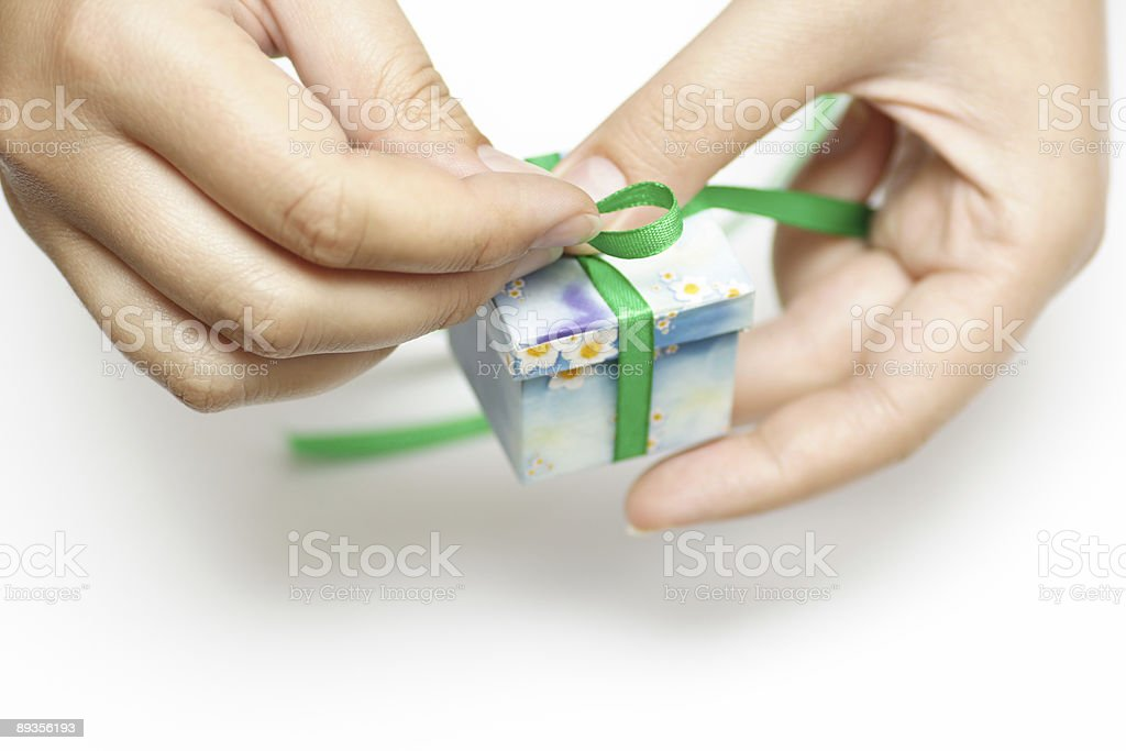 Gift for you royalty free stockfoto