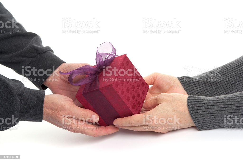 Gift Giving (XXL) royalty-free stock photo