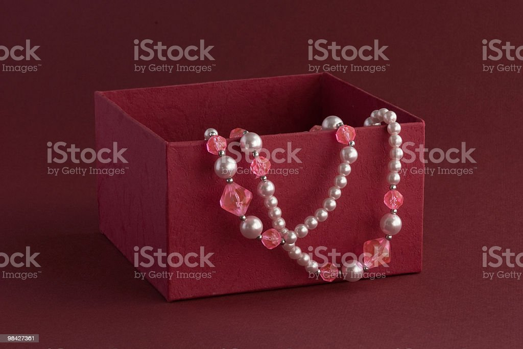 Regalo in scatola foto stock royalty-free