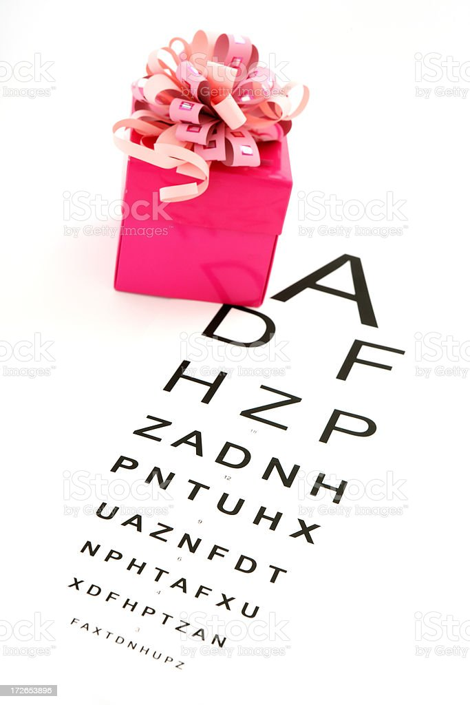 Gift of Sight royalty-free stock photo