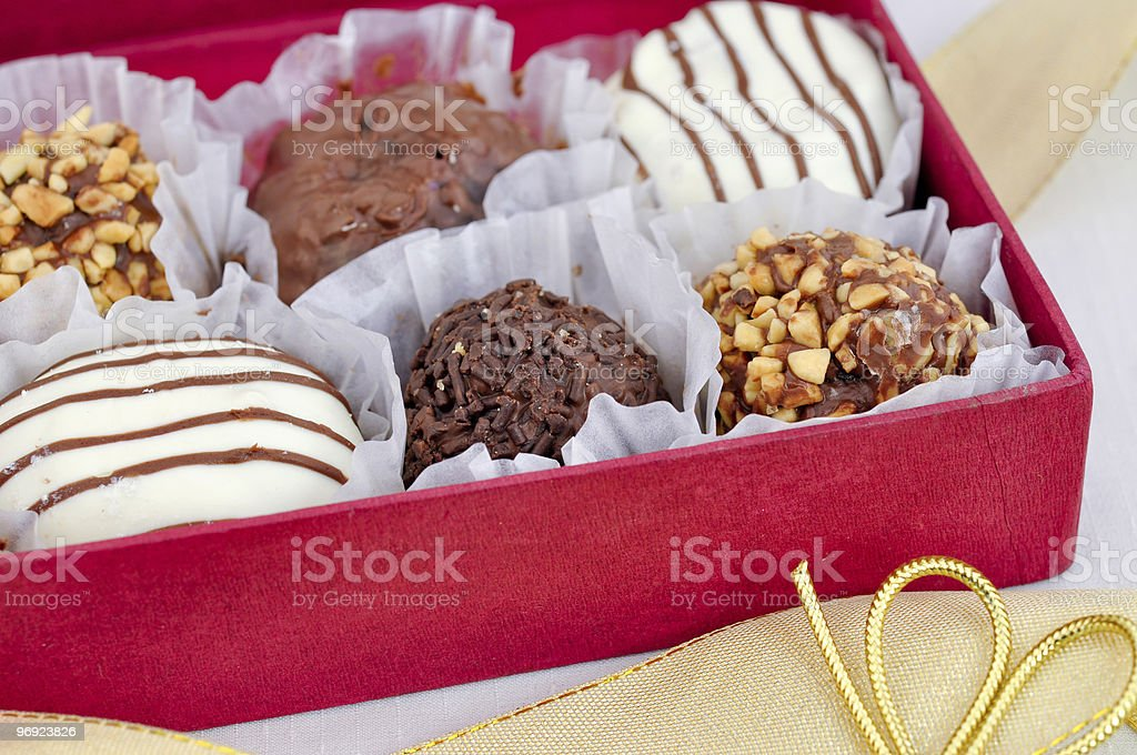 Gift of Truffles royalty-free stock photo