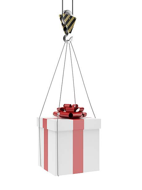 ギフトのクレーンホック - アイコン プレゼント ストックフォトと画像