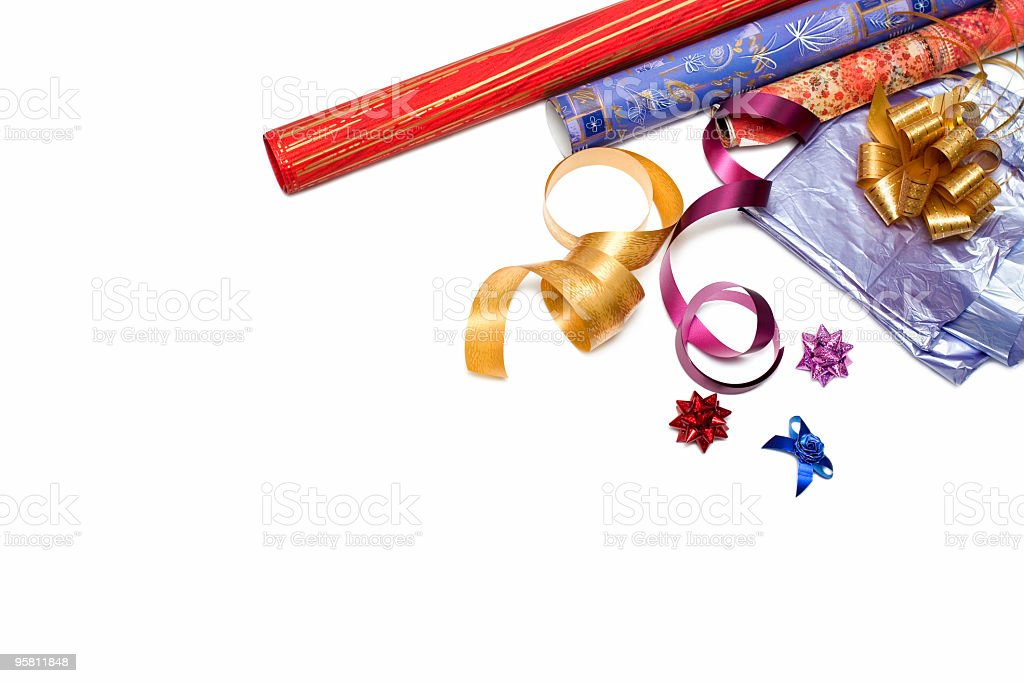 gift packing royalty-free stock photo