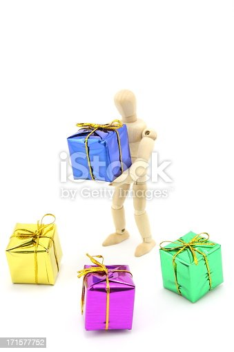 455111881 istock photo Gift packs and Mannequin 171577752