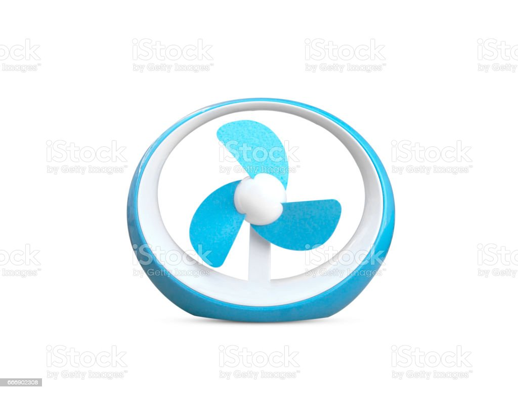 Gift paper fan blades stock photo