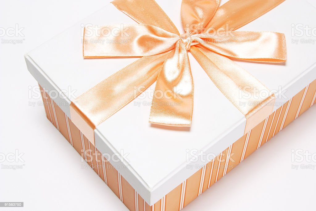 Gift Parcel royalty-free stock photo